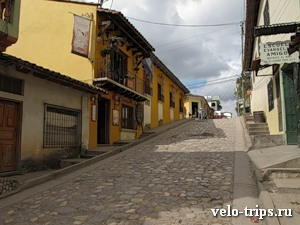 Honduras, morning Copan streets