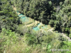 Semuc Champey view from mountain