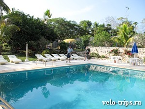 Mexico, pool in Chichen-Itza hotel