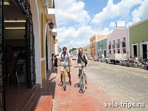 Mexico, Valliadolid streets
