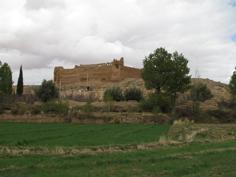 Morocco, Midelt. Big kasbah near town