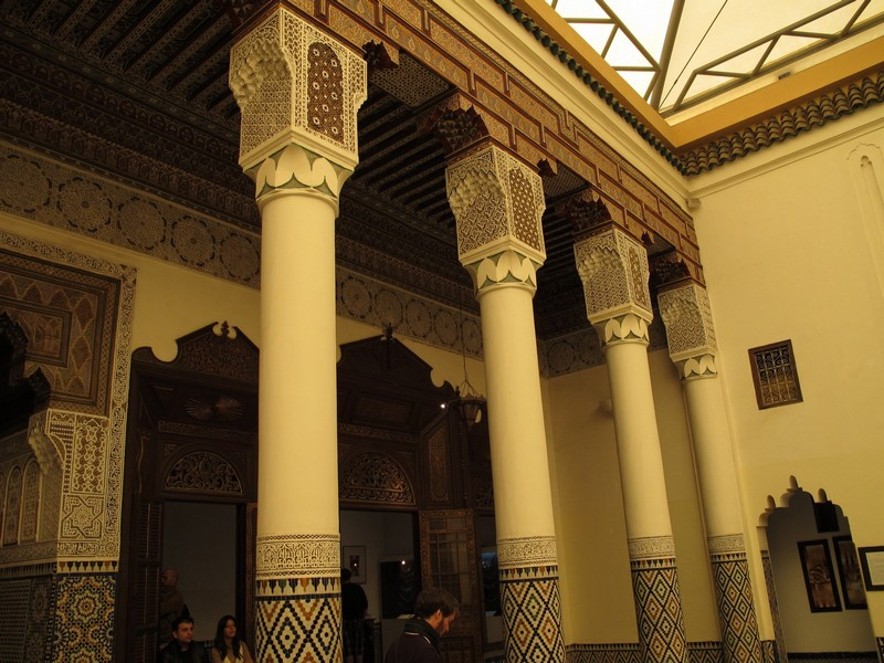 Morocco, Marrakesh. Palace